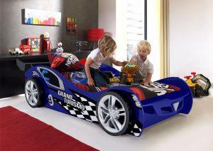 racerbilseng blå