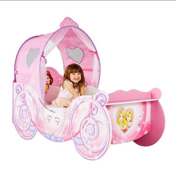 prinsessevogn seng