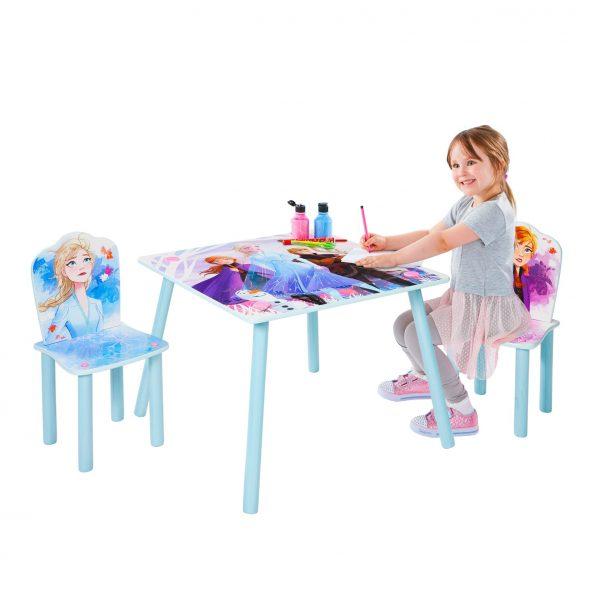 Frozen 2 bord og 2 stoler