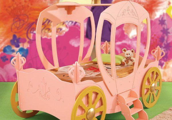 prinsessevogn prinsesseseng