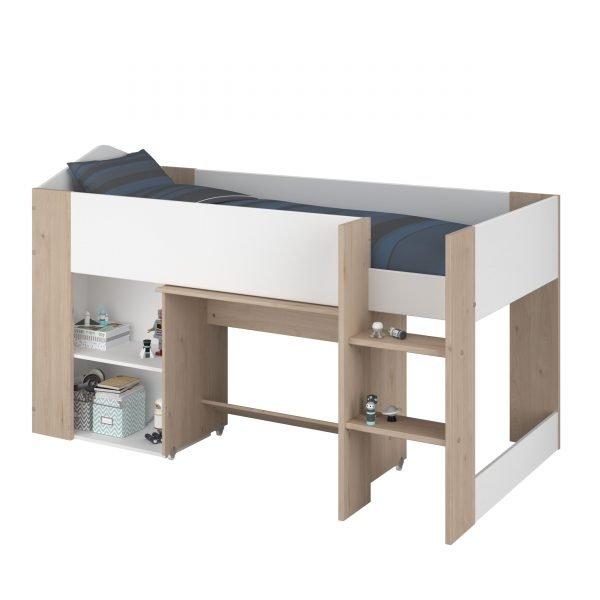 seng med skrivebord