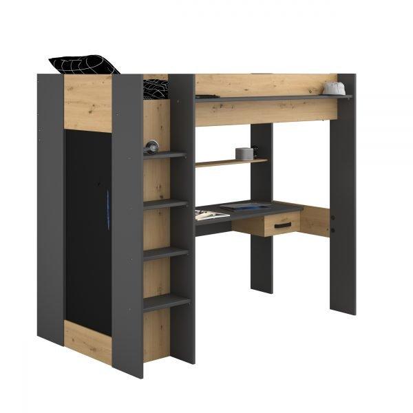 loftseng-med-garderobe-og-skrivebord